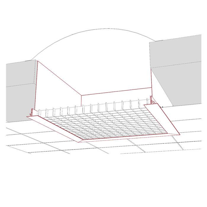 Installation thermique plafond coupe feu 2hamsan - Plafond coupe feu 1h ...