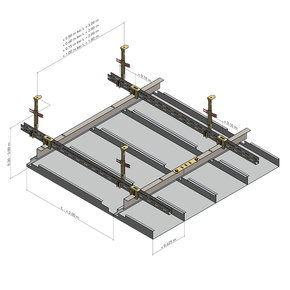 KLH 2.2.1.2 Standard design with grid profile - nonius suspension