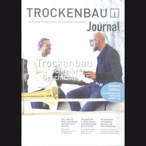 Trockenbau Journal 04/17